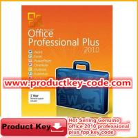 China Microsoft Office Product Key Codes, Hot selling Office 2010 Professional Plus FPP Key on sale