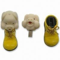 Best Promotion Gift Cartoon USB Flash Drives with 512MB to 32GB, No External Power Required wholesale