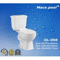 Best Sanitary Wares Water Saving Two-Piece Toilets for Bathroom (DL-006) wholesale