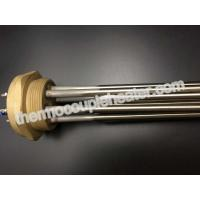 Best 3 Element Industrial Tubular Heaters / Flange Immersion Heater  For Rinse Tank Heating wholesale