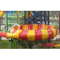 China Outdoor Fiberglass Water Slide Games for One Person Per Time , Adult Used in Giant Water Park on sale