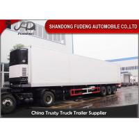 China 45 Ft / 40 Ft Refrigerated Cargo Trailer For Food Storage Max Payload 30 Ton on sale