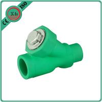 Best Eco Friendly Water Filter Pipe Fittings , Durable PPR Straight Ball Valve wholesale