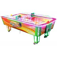 China Curve Surfuce Air Hockey 2 Players Coin Operated Machine / Ticket Redemption Games on sale