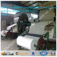Best 787mm 1T/D toilet paper making machine with waste paper as material wholesale