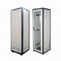 Best 19-inch Steel Cabinet Server Rack with Adjustable Bottom Hole and 41U Capacity wholesale