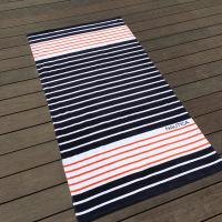 Best Eco Friendly Chevron Printed Beach Towels For Shower High Water - Absorbing wholesale