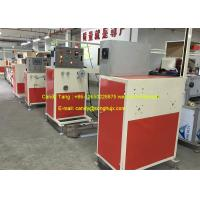 Best Single Screw Extruder PE Hot Water Pipe Making Machine 20 - 32 mm Tube Size wholesale