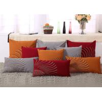 Best 100% Linen Decorative Cushion Covers Free Style Pattern Embroidered Throw Pillows wholesale
