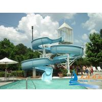 Best Commercial Water Park Equipments 7m Lake Open Water Swimming Pool Slides wholesale