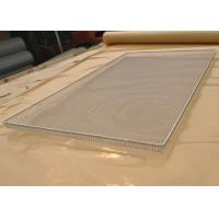 Best Food Grade Wire Mesh Tray For Vegetable Dehydration , Corrosion Resistant wholesale