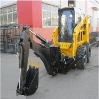 Best 2400Kg Tipping Load Narrow Aisle Lift Trucks / Mini Skid Steer 80Hp Power ISO Certification wholesale