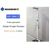 Best Automated Body Weight And Height Scale Supporting Arabic / Spanish / French wholesale
