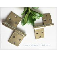 China Brass Bp Colorheavy Duty Lift Off Hinges , Lift Off Door Hinges Removable Type on sale