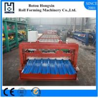 Best Steel Automatic Roll Forming Machine For Roofing Sheet Max 1mm Process Precesion wholesale