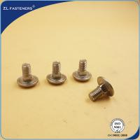China High Strength Stainless Steel Carriage Bolts DIN 603 Natural Color on sale