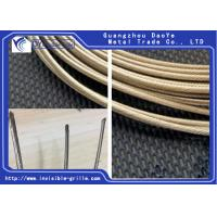 China 316 Stainless Steel Wire Good Anti Corrosion Ability For Invisible Grilles on sale