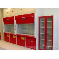 Best Exhaust System Fume Hood Cabinet 750mm Max Opening With Air Velocity Memory wholesale