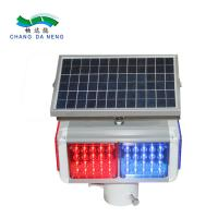 Best Pedestrian solar traffic warning light  led round battery operated traffic lights wholesale