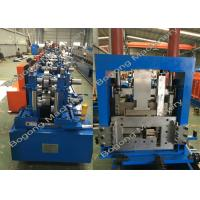 Best Interchangeable C&Z Purlin Forming Machine , Purlin Roll Former High Capacity wholesale
