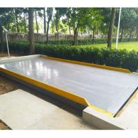 China 220V Poewr Supply Pit/Pitless 30ton 3x10m truck weigh scale for sale on sale