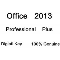 China Microsoft Office Professional Plus 2013 Product Key Retail Box Software With DVD on sale