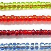 Best Glass Seed Jewelry Beads in Silver Line Colors, with Round, Bugle and 2-cut Shapes wholesale