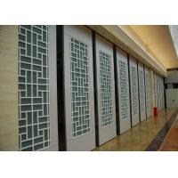 Best Interior Suspended Sliding Glass Folding Partition 4 Standard / Parking Track Systems wholesale