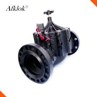 Best Irrigation Solenoid 12v 24 volt 80mm Water Flange 3 inch Solenoid Valve wholesale