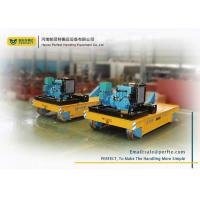 Best 75T Material Handling Trolley / Electric Transfer Car Trailer For Various Occasions wholesale