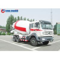 Best 12 Cubic Meters Cement Mixer Truck Ready Mix Air Pressure Water Supply wholesale
