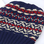 Best Women Knitted Hat  Winter Beanie Hats acylic jacquard weave knitted hat wholesale