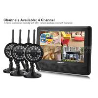 Best 800 x 480 Pixels CCTV Wireless DVR Security System TFT - LCD Full Color Display wholesale