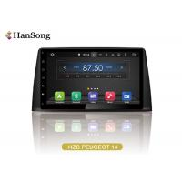 Best PEUGEOT 308 GPS Navigation System NXP6686 Radio With Full Touch Screen wholesale