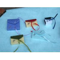 China Colors Cardboard Gift Box OEM Design Gift Box Packaging With Silk Ribbon Bow Tie on sale