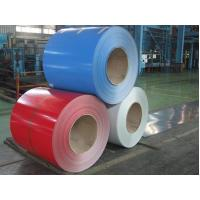 Best Glossy Color Coated Prepainted Steel Coil , Galvanized Steel Coil For Roof / Wallboards wholesale