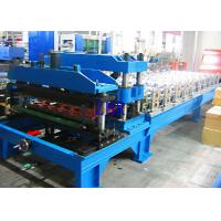 Automatic 1100 Metal Roof Tile Roll Forming Machine12Mpa 20 Stations Roller
