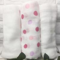Buy cheap 100% Cotton Muslin Colth Diaper Baby Swaddle Blankets Soft Breathable Custom from wholesalers