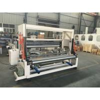 Best High Speed Tissue Paper Slitting And Rewinding Machine Automatic Discharging wholesale