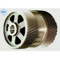 China Machined Industrial Stainless Steel / Brass Double Helical Gear High Precision on sale