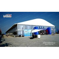 Roof 1500 Seater Church Large Event Tents with ABS Walling and Glass Plane