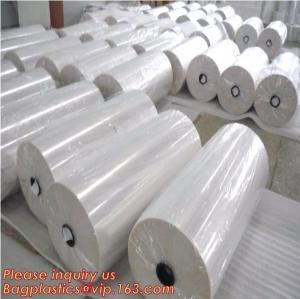 China Polyolefin POF Heat Shrink Wrap Film,Pre-perforated film,POF clear heat shrink plastic protective roll film,PE Shrink Fi on sale