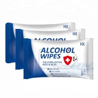 Buy cheap Anti-Bacterial Disposable Sanitizing Cleaning 75% Ethanol Disinfecting Wet Wipes from wholesalers