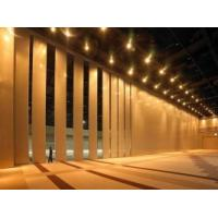 Best Decorative Sliding Operable Wooden Partition Wall Sound Proofing MDF Board wholesale
