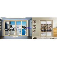 China Residential Series Solid Aluminum Sliding Doors With Smooth Push Feeling on sale