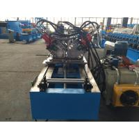 Best Double Row C Ceiling Roll Forming Machine , Metal Stud Roll Forming Machine By Chain wholesale