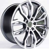 Best Gun Metal Car Wheels With 5x120 PCD For BMW X5 X6/ Colour Customized  21 Inch Forged Alloy Rims wholesale
