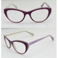 Best Lightweight Acetate Optical Frame, Cool Purple Acetate Women Glasses Frames wholesale