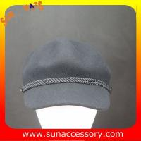 Best 2276 Sun Accessory customized fashion winter 100% wool felt cowboy hats  ,women hats and caps wholesaling wholesale