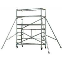 Cheap Lightweight Ladder Multi Purpose Aluminium Mobile Scaffold / Mobile Scaffold With Wheels for sale